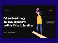 Marketing Services Landing Page