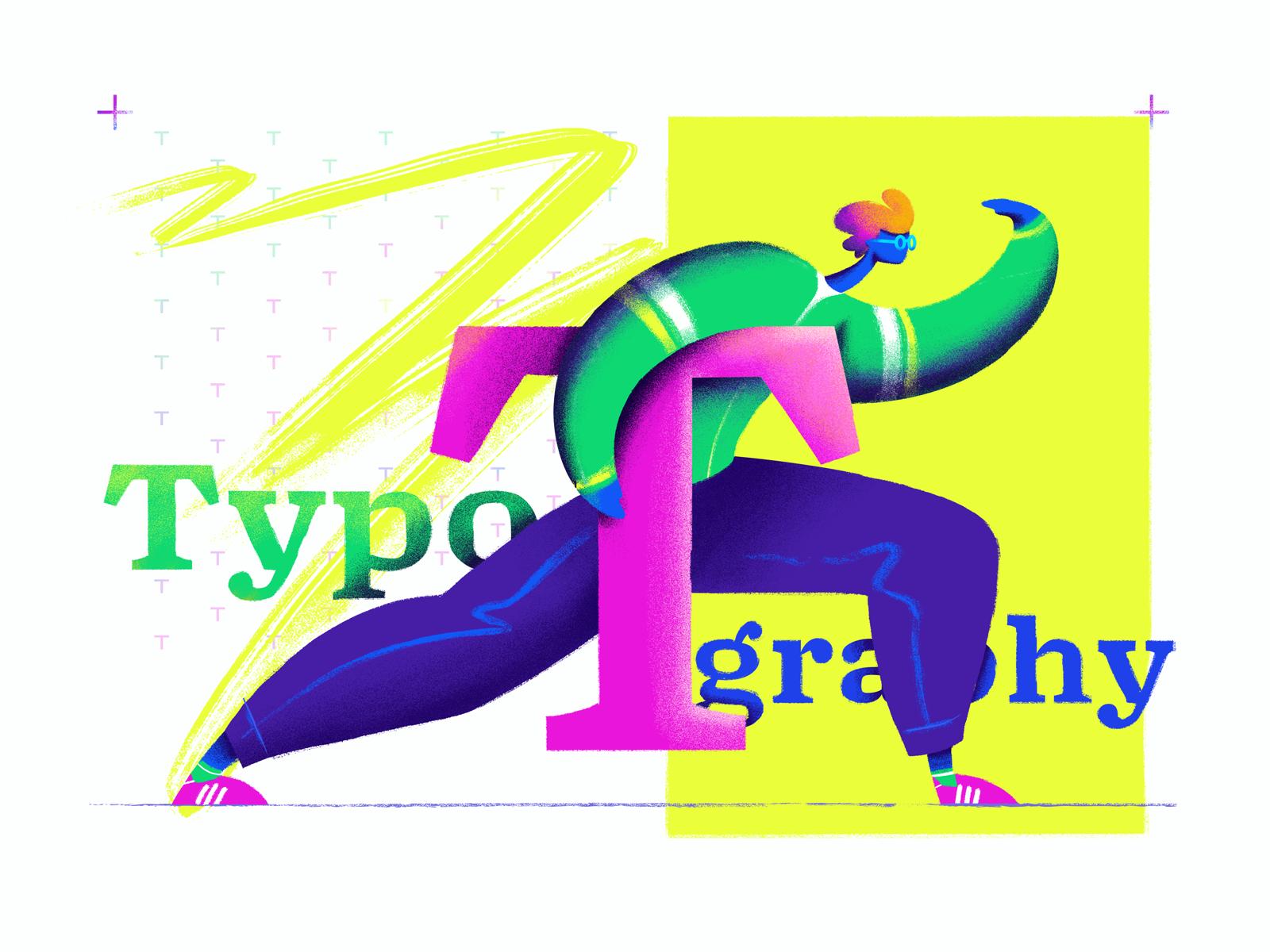 Font choice illustration tubik