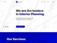 Construction company website design tubik