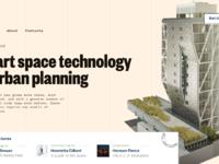 Urban digital conference webpage tubik