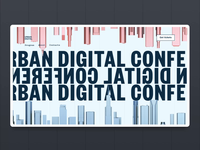 Urban Digital Conference Website