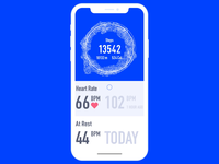 Fitness Tracker Refresh Animation