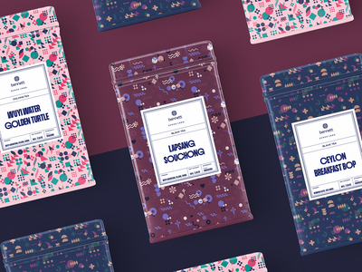 Tea brand packaging design tubik 4x