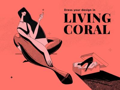 Living Coral Illustration