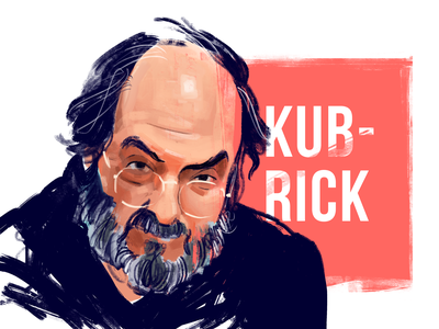 Stanley Kubrick Portrait cinematography film movie cinema stanley kubrick digital art portrait illustration graphic design design