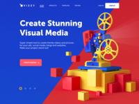 Visual Media Creator Website