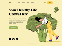 Health Blog Design