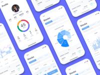 Stock Analysis App UI: Light Theme