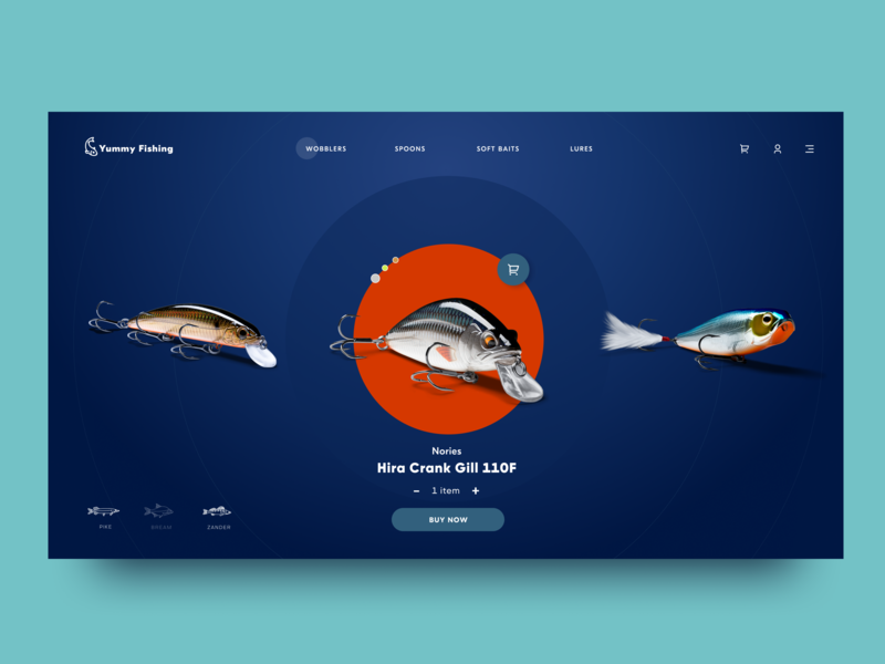 Fishing Ecommerce Website