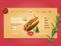 My Hot Dog UI Design
