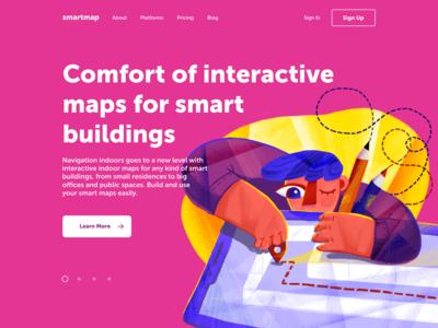 SmartMap Landing Page