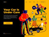 CarAid Landing Page