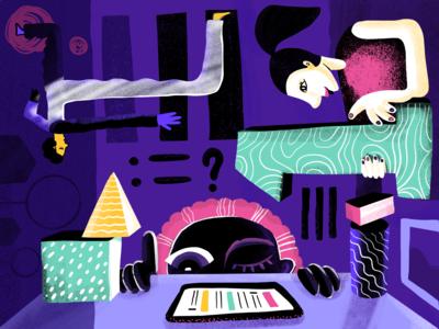 User Psychology Illustration