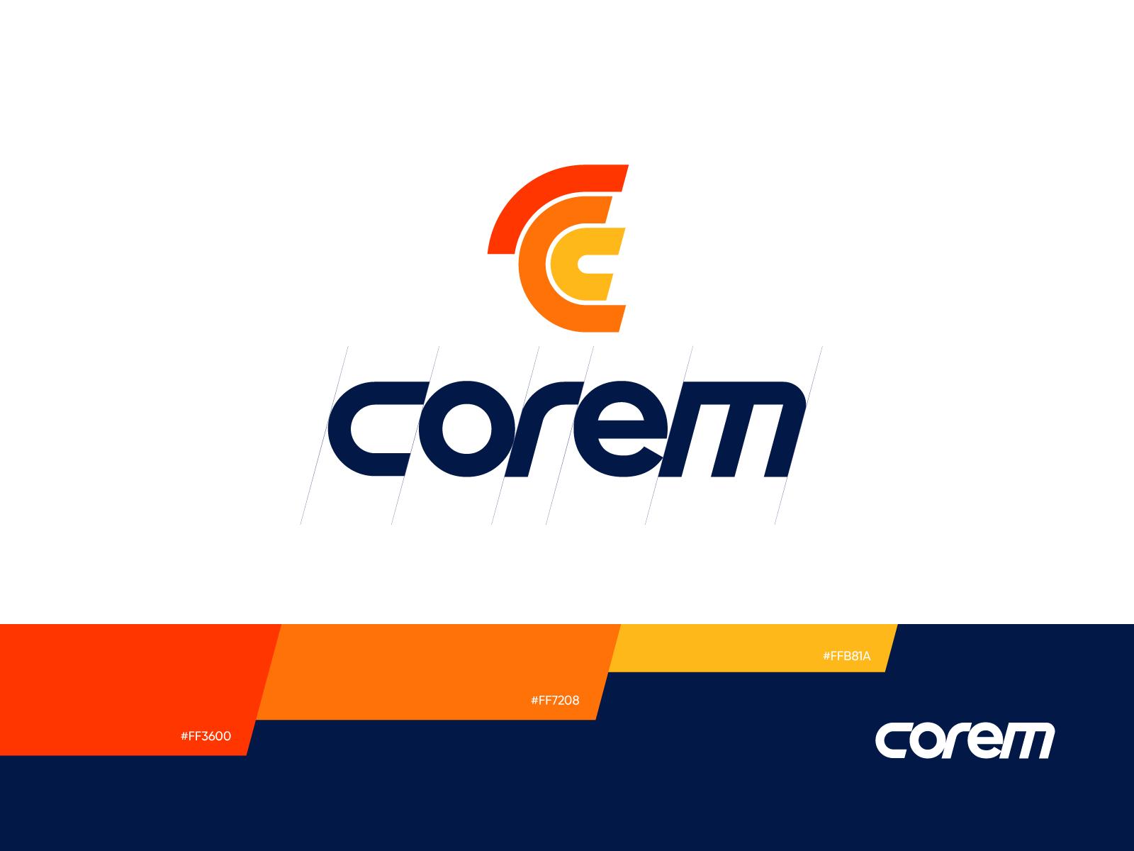 Crm service logo design tubik
