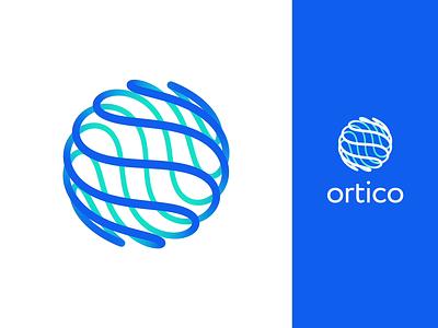 Ortico Logo Design artificial intelligence identity design motion graphics brand design logo animation logo design user experience logo vector branding motion mobile web interaction animation design studio ui ux graphic design design