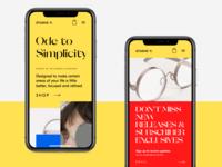 Ecommerce Website on Mobile