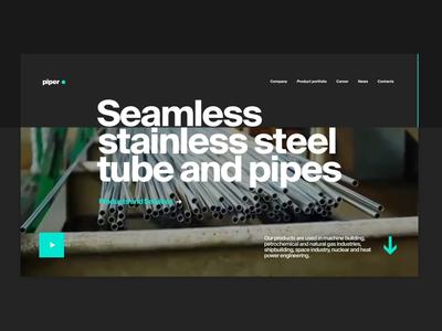 Metallurgy Plant Website