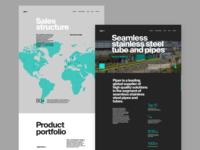Metallurgy Plant Website Design