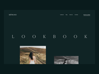 MYWONY Website: Lookbook Interactions