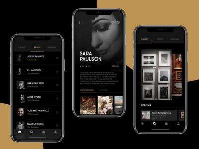 Gallery App Ui