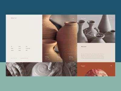 Pottery Studio Website
