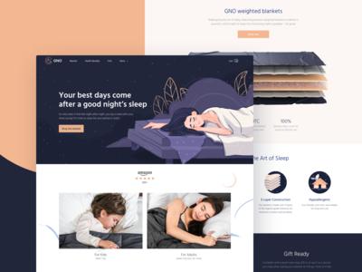 GNO Blankets Website