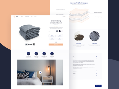 GNO Blankets Product Page