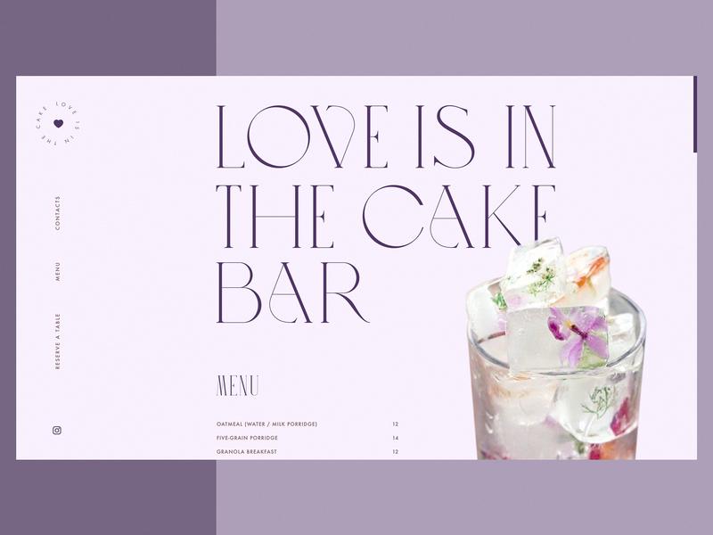 Niche Cake Bar Website