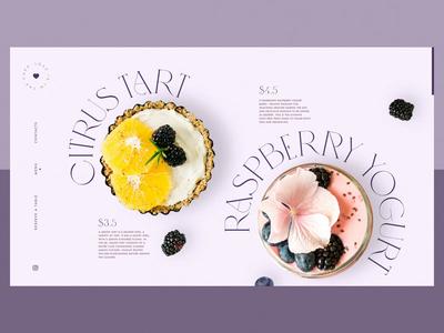 Niche Cake Bar Website Design