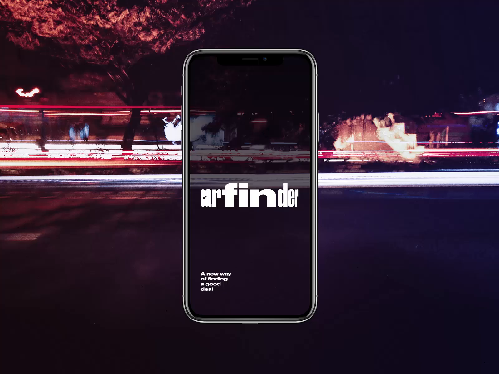 Carfinder app interactions tubik