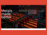 Innovative Metal Plant Website