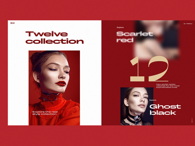 Twelve Collection Web Design
