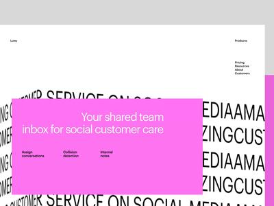SMM Agency Website Design web interface minimalism services agency website website typography social media smm web design brutalism motion user experience web interaction animation interface ui ux graphic design design