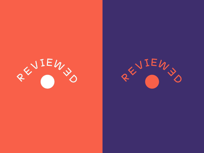 Reviewed Logo Animation