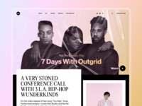 Culture Magazine Website
