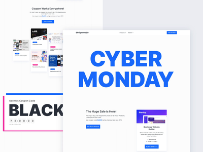 Designmodo Cyber Monday web animation web marketing promotional design cyber monday sale design resources motion graphics motion design graphics web design user experience animation web interaction design studio interface ui ux graphic design design