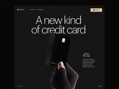 Landing Page for Cashback Service