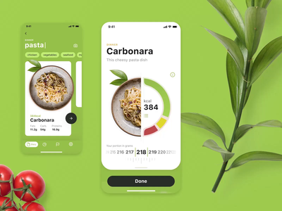 Calorie Calculator App Interactions