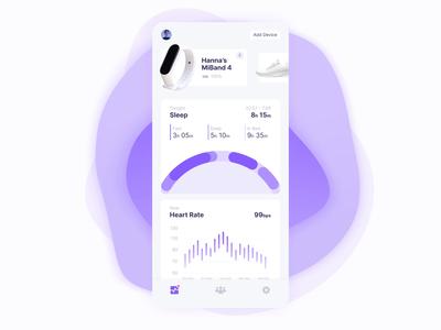 Fitness App UI Animation