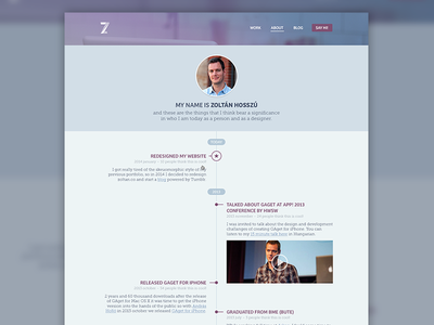 zoltan.co - about - WIP about portfolio cv timeline