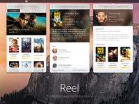 Reel - Find a movie in the menu bar