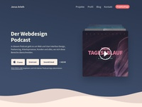 Podcast Landingpage Website Design - final