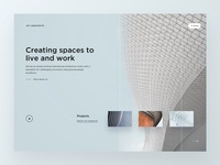 Architecture Studio Firm Homepage
