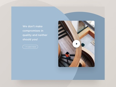Architecture Layout - forms and shapes video design ui website web design responsive building architects layout architecture firm landingpage
