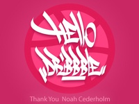 My first Dribbble shot! So Happy to be here! Thanks @NoahCede