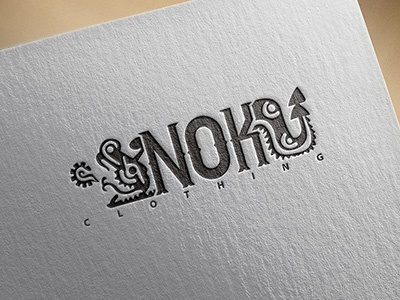 Nok Clothing Streetwear - Logo Design