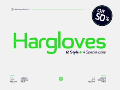 Hargloves Fonts | Style