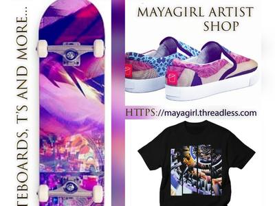 skateboard promo