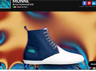 MUNNE shoe design