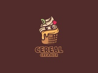 Ice Cream smile Logo